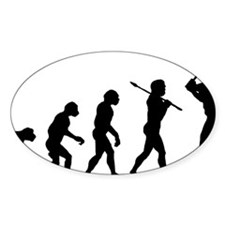 Baseball B Decal