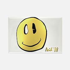 smileys acid man Rectangle Magnet