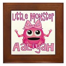 aaliyah-g-monster Framed Tile