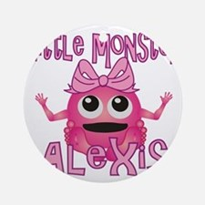 alexis-g-monster Round Ornament