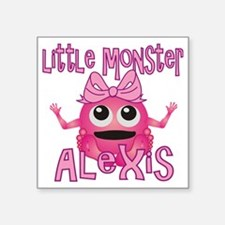 """alexis-g-monster Square Sticker 3"""" x 3"""""""