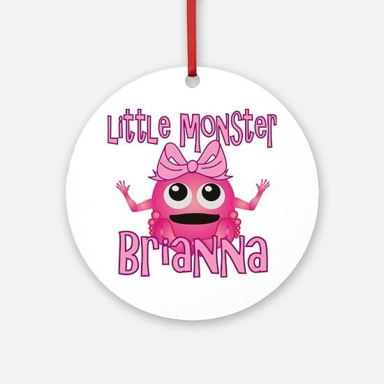 brianna-g-monster Round Ornament
