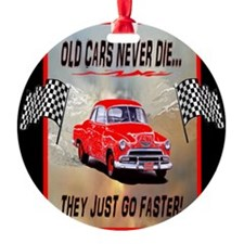 Old Cars Never Die! ( 5 x8) Journal Ornament