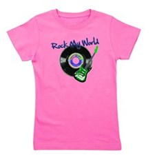 Rock My World Girl's Tee