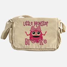 brooke-g-monster Messenger Bag