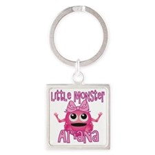 ariana-g-monster Square Keychain