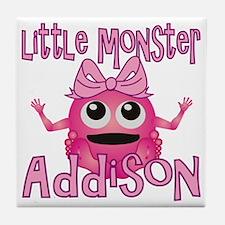 addison-g-monster Tile Coaster