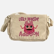addison-g-monster Messenger Bag