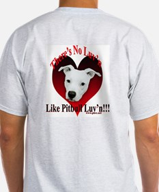 Pitbull Luv'n Ash Grey T-Shirt