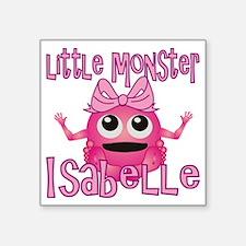 "isabelle-g-monster Square Sticker 3"" x 3"""