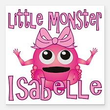 "isabelle-g-monster Square Car Magnet 3"" x 3"""