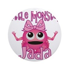 jada-g-monster Round Ornament