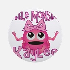 kaylee-g-monster Round Ornament