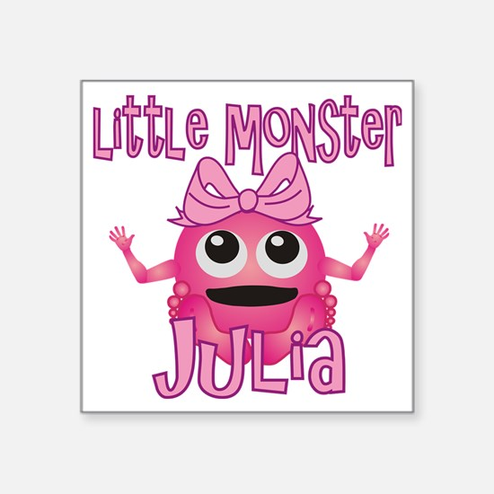"julia-g-monster Square Sticker 3"" x 3"""