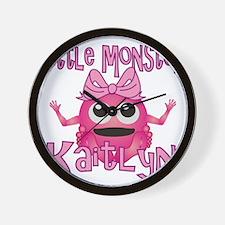 kaitlyn-g-monster Wall Clock