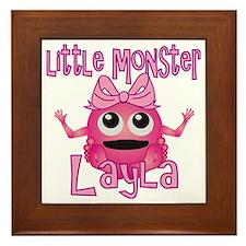layla-g-monster Framed Tile