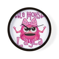 layla-g-monster Wall Clock