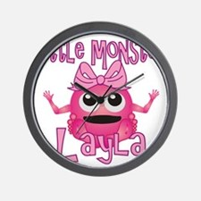 layla-g-monster Wall Clock