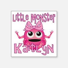 """kaitlyn-g-monster Square Sticker 3"""" x 3"""""""