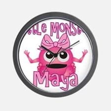 maya-g-monster Wall Clock