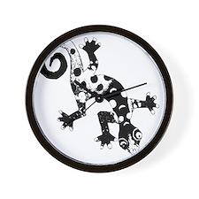 blkmonoliz Wall Clock