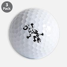 blkmonoliz Golf Ball