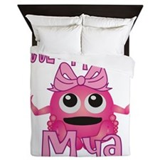 mya-g-monster Queen Duvet