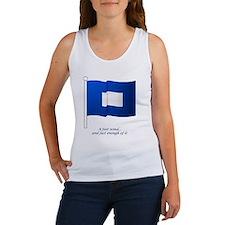 bluepeter[11x11_pillow] Women's Tank Top