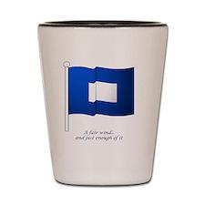 bluepeter[11x11_pillow] Shot Glass