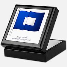 bluepeter[11x11_pillow] Keepsake Box