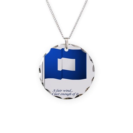 bluepeter[8x8_apparel] Necklace Circle Charm