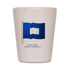 bluepeter[8x8_apparel] Shot Glass
