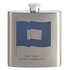bluepeter[8x8_apparel] Flask