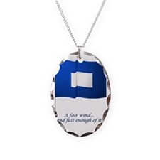 bluepeter[9x12_print] Necklace