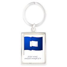bluepeter[9x12_print] Portrait Keychain
