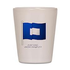 bluepeter[4x4_pocket] Shot Glass