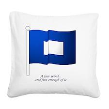 bluepeter[11.5x9_print] Square Canvas Pillow