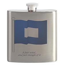 bluepeter[11.5x9_print] Flask