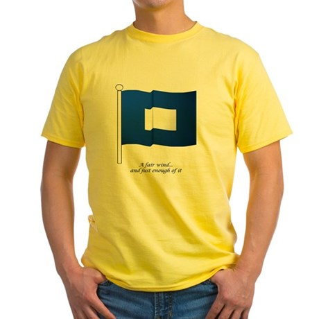 bluepeter[11.5x9_print] Yellow T-Shirt