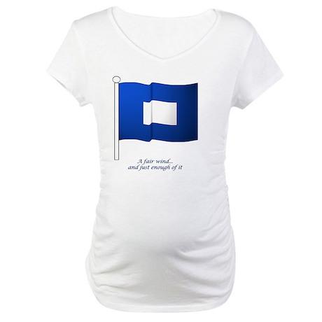 bluepeter[11.5x9_print] Maternity T-Shirt