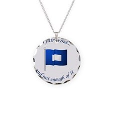 bluepeter[1x1_button] Necklace
