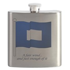bluepeter[208_H_F] Flask