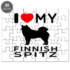 I Love My Finnish Spitz Puzzle