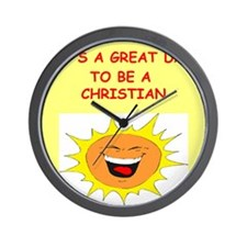CHRISTIAN.png Wall Clock