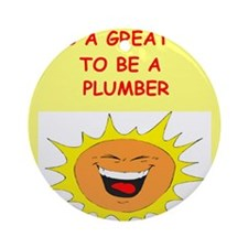 PLUMBER.png Ornament (Round)
