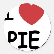 PIE01 Round Car Magnet