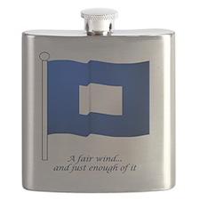 bluepeter[6x6_pocket] Flask