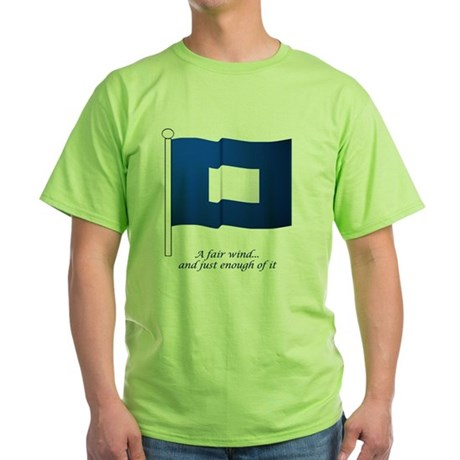 bluepeter[6x6_pocket] Green T-Shirt