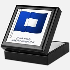 bluepeter[6x6_pocket] Keepsake Box