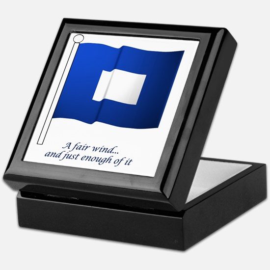 bluepeter[6x6_pocket] Keepsake Box